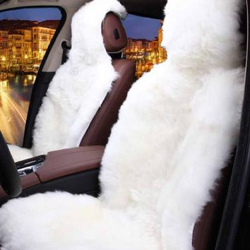 Fur Not so Fluffy Seat Covers