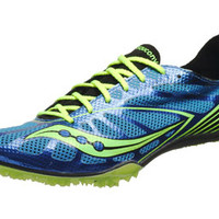 Saucony Endorphin MD4 Men's Spikes Blue/Citron/Black
