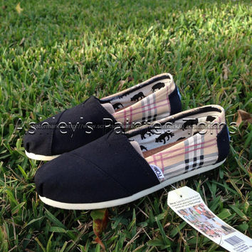 Burberry Inspired Toms
