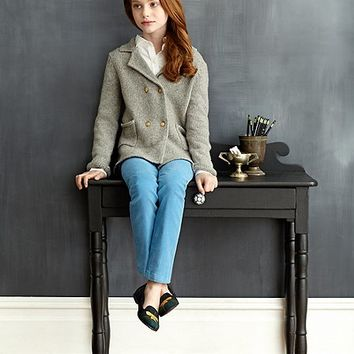 Cashmere and Wool Sweater Jacket - Brooks Brothers