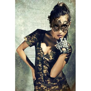 Laced Masquerade Party Mask