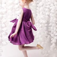 NellyStella Valentina Dress in Wood Violet - N13F010-WV - FINAL SLAE