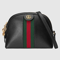 Gucci Classic Hot Sale Women Leather Handbag Shoulder Bag Crossbody Satchel Black