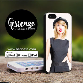 Taylor Swift Cover Album Red Lips iPhone 5 | 5S | SE Cases haricase.com