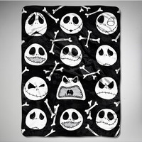 "Nightmare Before Christmas 'Bone Buster' 45""x60"" Fleece Blanket"