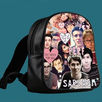 British Youtuber for Backpack / Custom Bag / School Bag / Children Bag / Custom School Bag ***