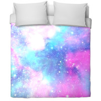 Galaxy Print Bed Cover
