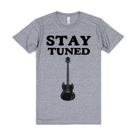 STAY TURNED GUITAR SHIRT