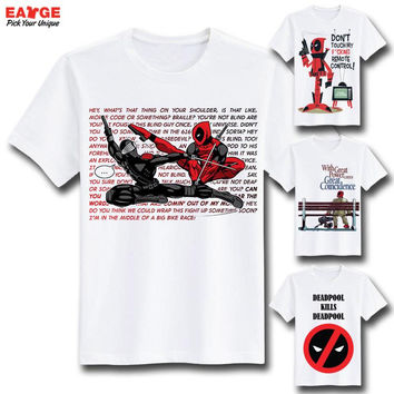 T shirt Marvel Creative Design  Cool Fashion T-shirts (Multi Designs)
