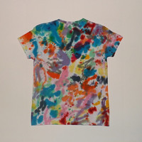 Artsy Tie Dye Shirt - Choose Any Size (Adults, Kids, and Toddlers) and Style Shirt