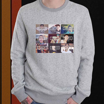 Magcon Boys Birth Date sweater Sweatshirt Crewneck Men or Women Unisex Size
