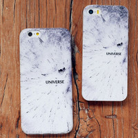 White Universe Iphone Cases for 6 6s 6plus