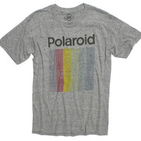 Polaroid Prism Faded Graphic Gray Tee by Altru Apparel (S Sold Out)