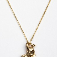 Brandy ♥ Melville |  Gold elephant necklace - Jewelry - Accessories