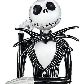 Jack Skeleton Molded Coin Bank by Disney-Jack Bust Coin Bank-Brand New!