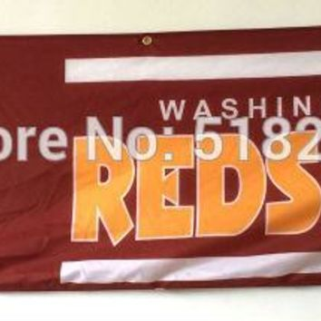 Washington Redskins Banner 2x8FT NFL Flag