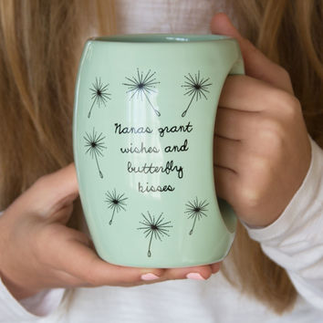 Nanas grant wishes and butterfly kisses Mug