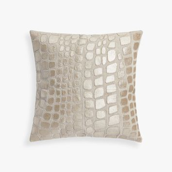 PILLOW COVER WITH APPLIQUÉS - THROW PILLOWS - BEDROOM | Zara Home United States of America