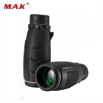 35X Magnification Water Proof Monocular Telescope with BAK4 Optical Glass Lenses Light Night Vision Scope for Hunting Camping