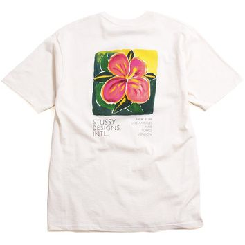 Hibiscus T-Shirt Natural