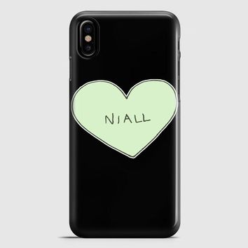 Niall Horan Guitar Perform One Direction iPhone X Case