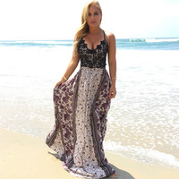 Garden Dreams Maxi Dress