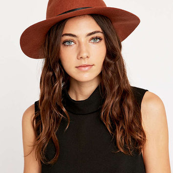 Scout Rust Felt Panama Hat - Urban Outfitters