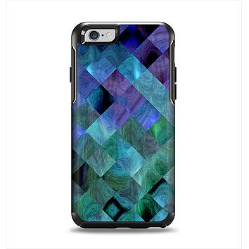 The Multicolored Tile-Swirled Pattern Apple iPhone 6 Otterbox Symmetry Case Skin Set