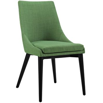 Viscount Fabric Dining Chair Kelly Green EEI-2227-GRN