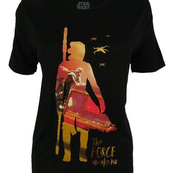 Star Wars Juniors' Foil Graphic T-Shirt
