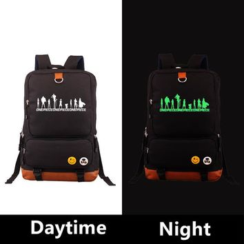 Japanese Anime Bag 2018 Japanese  ONE PIECE Backpack Cosplay Printing Unisex Backpacks Shoulder Scholl bags Laptop Travel Bags AT_59_4
