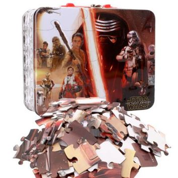 Star Wars Episode 7 100pc Puzzle in Tin Lunch Box - CASE OF 12