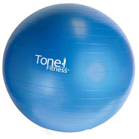Tone Fitness Burst Resistant Exercise Ball (65 cm) at City Sports