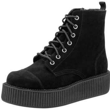 Black Mondo Creeper Boots