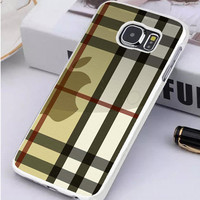 Burberry Inspired Samsung Galaxy S7 Edge Case  Sintawaty.com