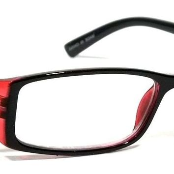 WOMEN READING GLASSES NEW YORK FLORAL STYLE SPRING HINGES FRAME READERS