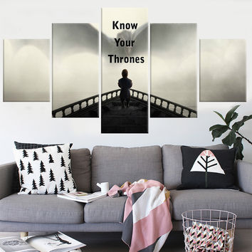 Shop game of thrones wall decor on wanelo for Modern house decor games