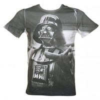 Men's Star Wars Darth Vader Sublimation Print T-Shirt : TruffleShuffle.com