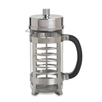 BonJour® Coffee and Tea Linear 8-Cup French Press in Stainless Steel