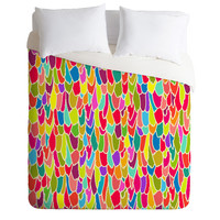 Sharon Turner Tickle Me Duvet Cover