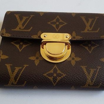 100% Authentic Louis Vuitton Wallet Monogram Limited Edition