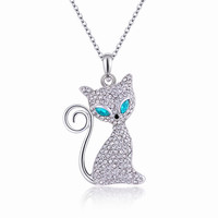 Jewelry New Arrival Shiny Gift Crystal Korean Pendant Lovely Stylish Necklace [11405169231]