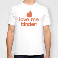 Love me Tinder T-shirt by S.Levis