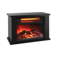 Table Top 750 Watt Electric Fireplace Infrared Space Heater - 2,559 BTUs