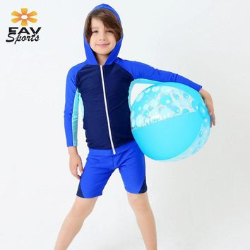 2018 Baby Boys Swimsuit Two Piece Letter Print Bathing Suits For Summer Rash Guard Tankini Tops+Shorts Beachwear