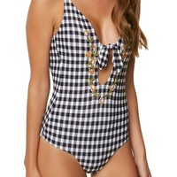 O'Neill Poppy Plunge One-Piece Swimsuit | Nordstrom