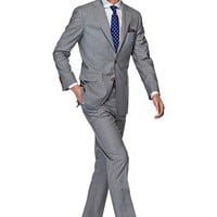 Suit Light Grey Stripe York P3531 | Suitsupply Online Store