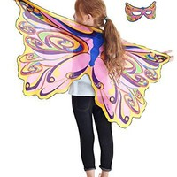 Douglas Toys Dreamy Dress-Ups 50585 Rainbow Fairy Wings and Matching Mask