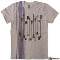 Mens ARROWS Collection Alternative Apparel Eco T Shirt S M L XL - Limited Stock
