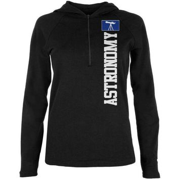 LMFONFT Astronomy Major Astronomy Science Team Juniors Half-Zip Pullover Hoodie